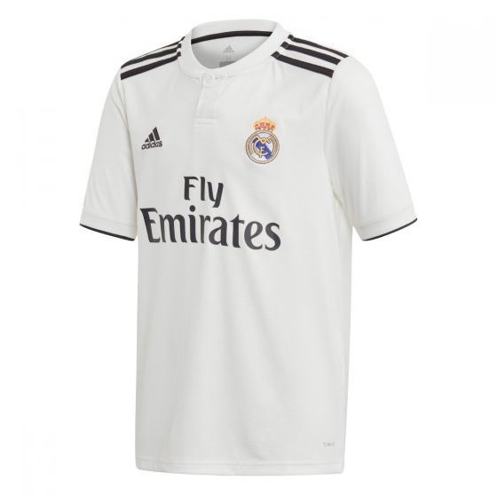 adidas Real Madrid 2018 Home Jersey Youth