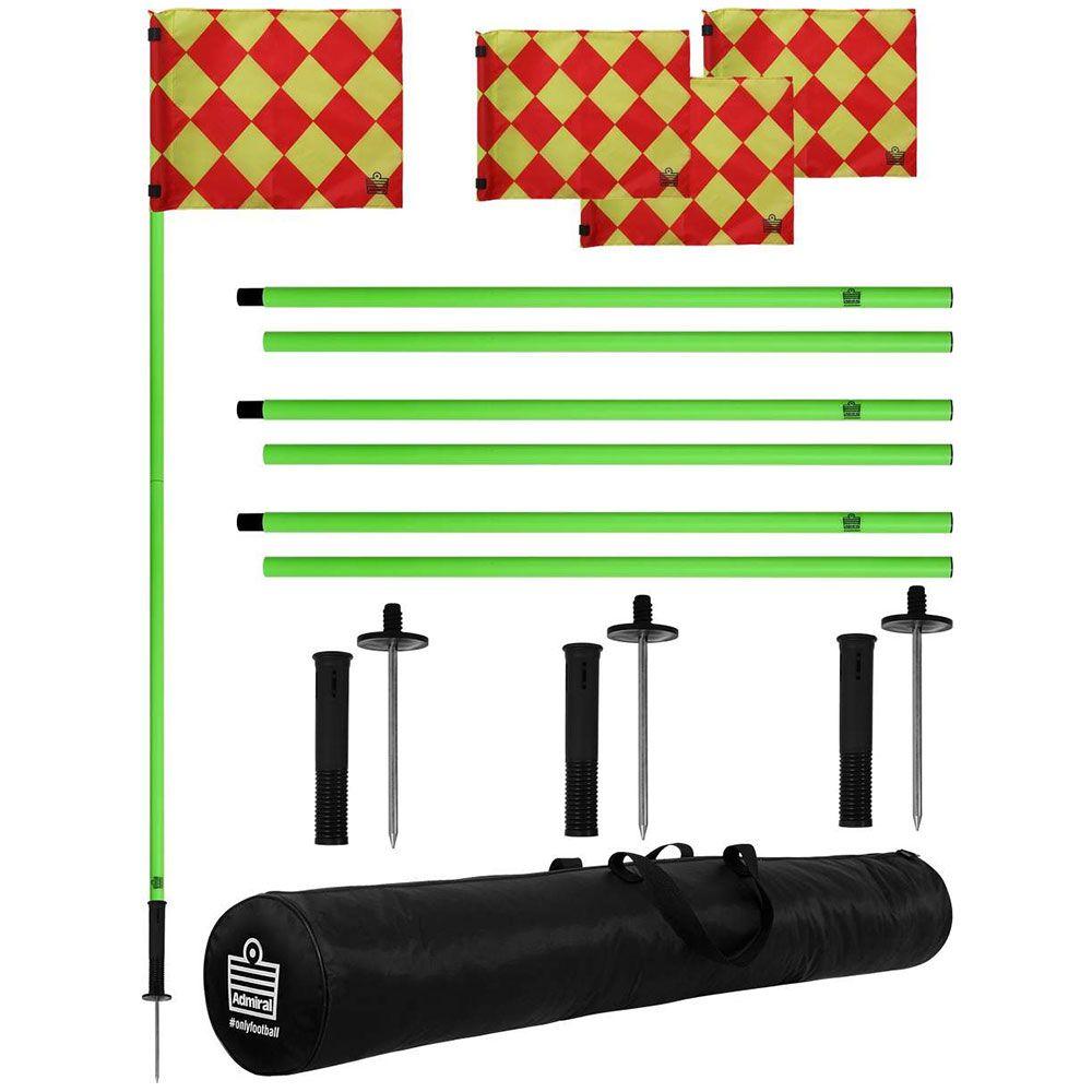 Admiral Pro Corner Flag Set Corner Flags Soccer Village