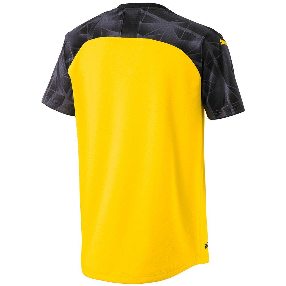 Puma Borussia Dortmund 2019 Youth Cup Jersey Cyber Yellow Soccer Village