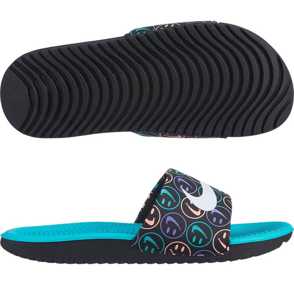 New Kids Nike Kawa Slide Print # 819358 007
