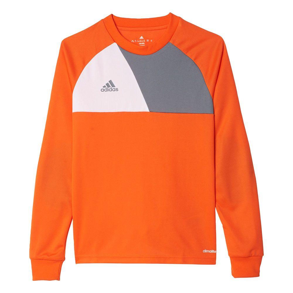 adidas Youth Assita 2017 Goalkeeper Jersey - Orange/Grey - AZ5402 ...