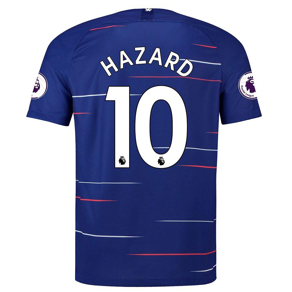 Nike Chelsea 2018 Home Jersey Hazard - Rush Blue/White   Soccer ...