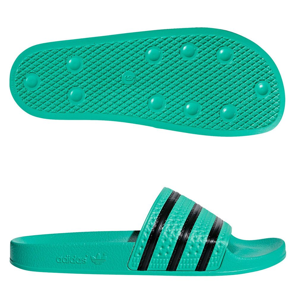 adidas Adilette - green/black CQ3100