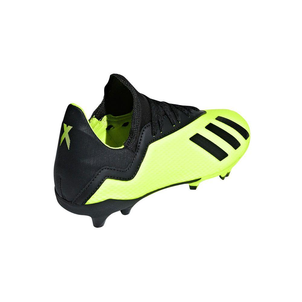 adidas Junior X 18.3 FG - Solar Yellow