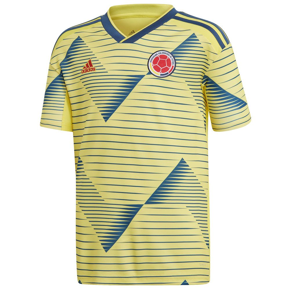 adidas Colombia 2019 Home Youth Jersey