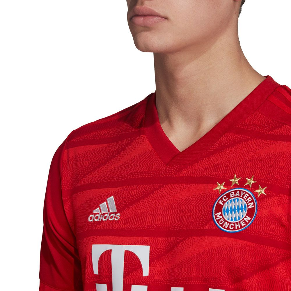 Adidas Fc Bayern Munich 2019 Home Jersey Fcb True Red Soccer Village