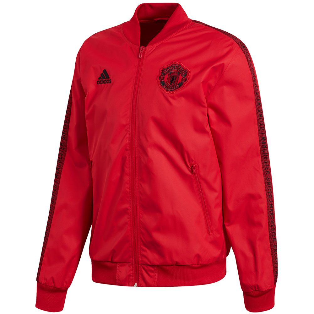 boicotear abrazo Confusión  adidas Manchester United Anthem Jacket - Man Utd   Soccer Village