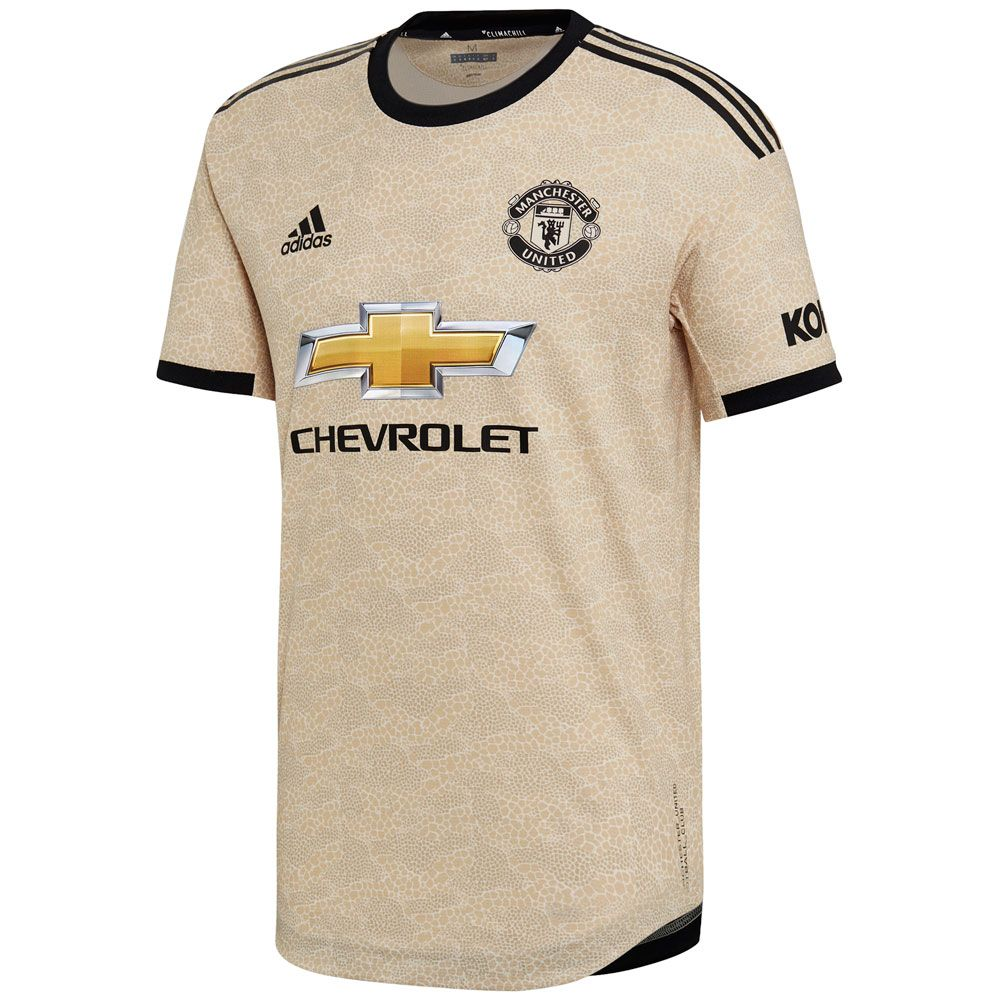 adidas Manchester United 2019 Authentic Away Jersey - Linen ...