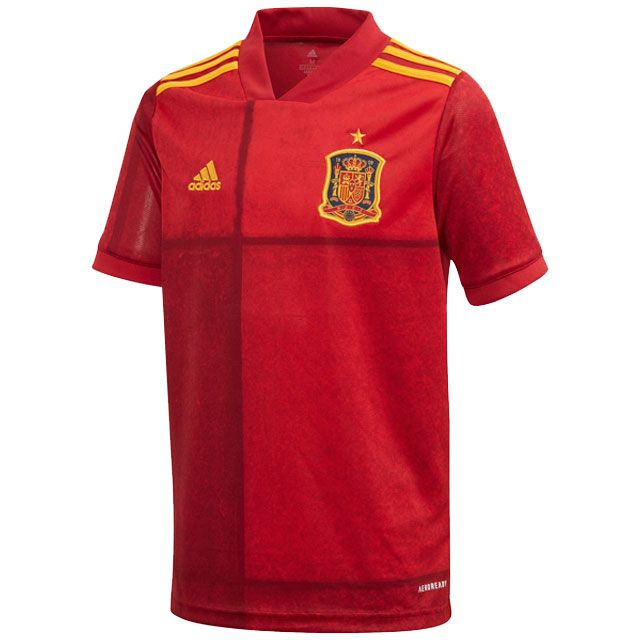 adidas Spain 2020 Home Jersey Youth - Spain Apparel   Soccer Village
