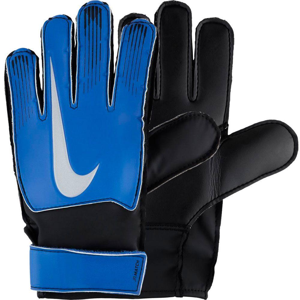 Compuesto Suelto Escritor  Nike Goalkeeper Match Glove Jr - Racer Blue/Black/Metallic Silver - GS0368-420    Soccer Village