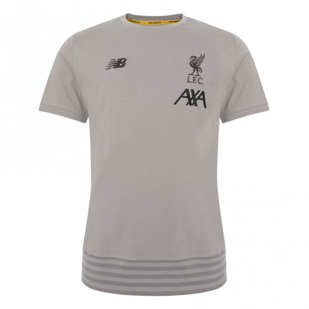 New Balance Youth Liverpool Fc Travel Tee Liverpool Apparel Soccer Village