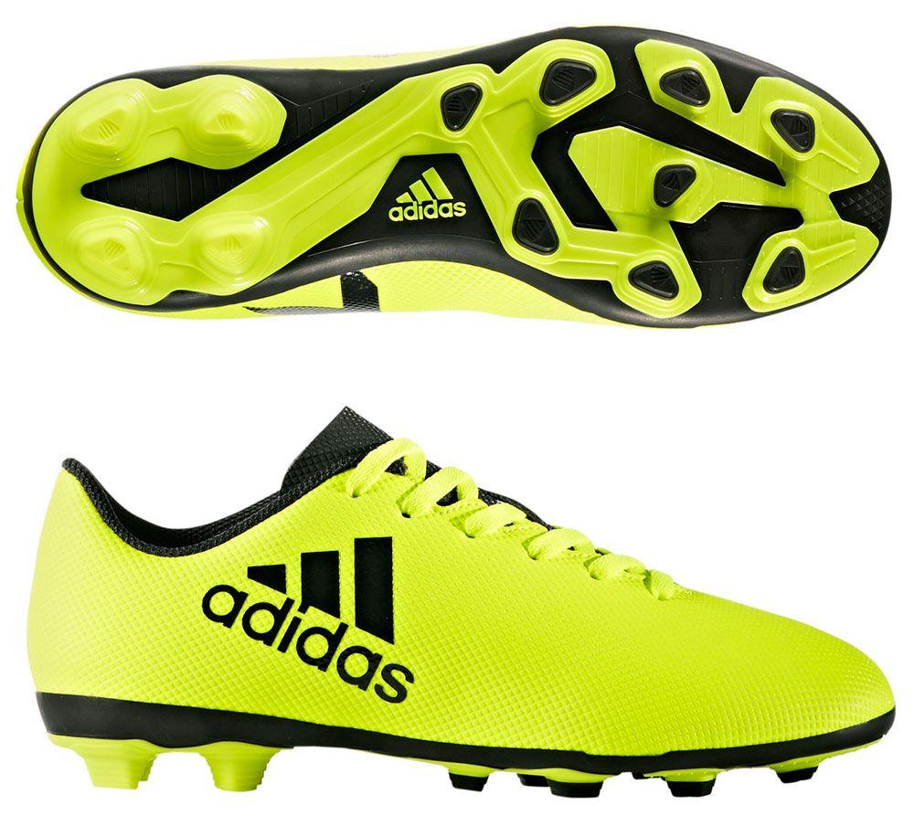 consultor compañero alabanza  adidas X 17.4 FxG Junior - Solar Yellow/Legend Ink - S82404 | Soccer Village