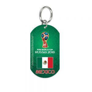 Mexico Metal Key Ring
