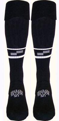 Official Sports International USSF 2 Stripe Referee Sock