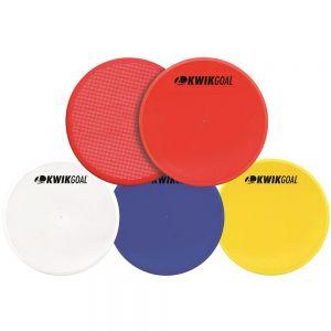 Kwik Goal 10 Flat Round Markers 10 Pk