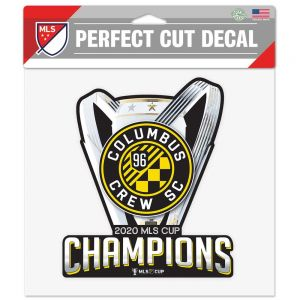 Wincraft Columbus Crew SC Perfect Cut Color Decal 8X8 MLS Cup Champs