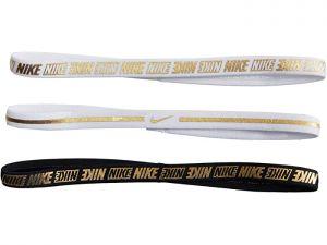 Nike MTLC Headbands 3 Pack