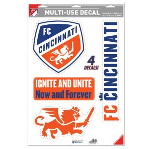 Wincraft FC Cincinnati Multi-Use Decal 11 x 17