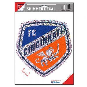 Wincraft FC Cincinnati Shimmer Decal 5 x 7