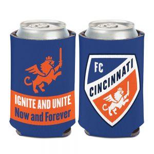 Wincraft FC Cincinnati Can Cooler Slogan 12 oz.