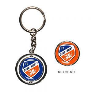 Wincraft FC Cincinnati Spinner Key Ring