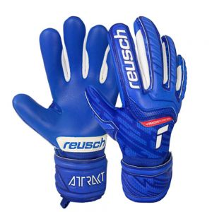 Reusch Attrakt Grip Evolution Finger Support Junior Goalkeeper Glove