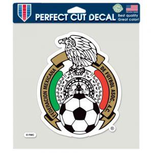 Mexico Die Cut Decal 8 x 8