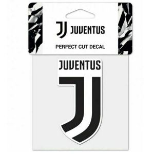 Juventus Perfect Cut Color Decal 8x8