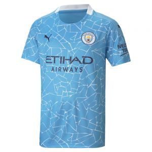 PUMA Manchester City 2020 Youth Home Jersey