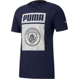 PUMA Manchester City Core Graphic Tee