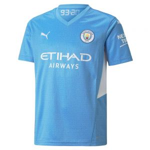 PUMA Manchester City 2021/22 Youth Home Jersey