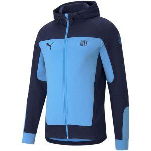 PUMA Manchester City Evostripe Hooded Jacket
