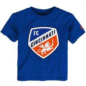 adidas FC Cincinnati Toddler Primary Logo Tee