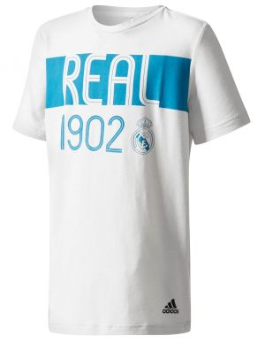 adidas Youth Real Madrid Graphic Tee