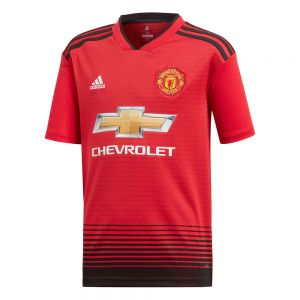 adidas Youth Manchester United 2018 Home Jersey