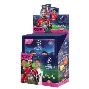 Topps Champions League 19/20 Stickers (5 Pack)