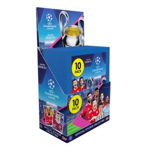 Topps Champions League 2020/21 Stickers (10 Pack)