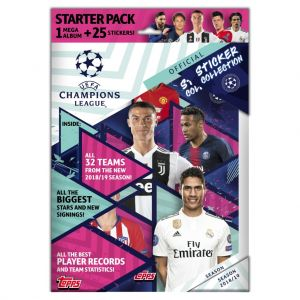 Topps Champions League 18/19 Stickers Starter Pack
