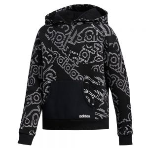 adidas Linear Print Hoodie