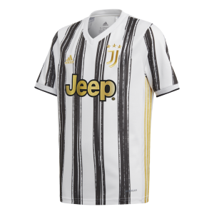 adidas Juventus 2020 Youth Home Jersey