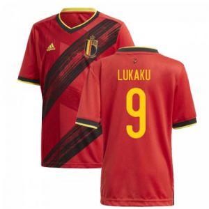 adidas Belgium 2020 Home Jersey LUKAKU 9