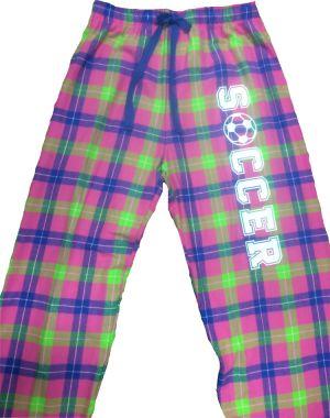 Flannel Soccer Pajama Pant