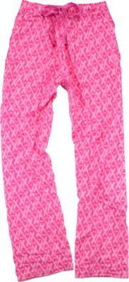 Pink Ribbon Flannel Pant