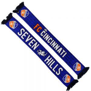 Ruffneck FC Cincinnati Seven Hills HD Knit Scarf