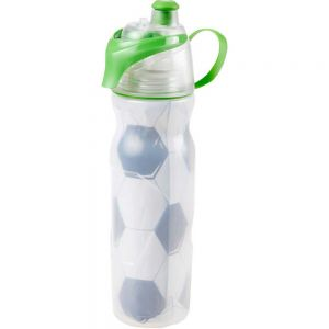 O2 Cool Mist N Sip 20 oz Soccer Water Bottle