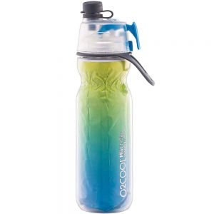O2 Cool Insulated Mist N Sip 20 oz Water Bottle