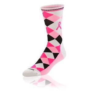 Twin City Argyle Ribbon Crew Sock