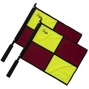 Advanced Swivel Official Checkered Flag with Border