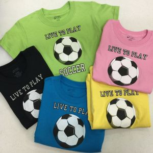 Youth Live to Play T-Shirt