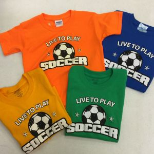 Live To Play Stars T-Shirt